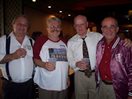 Rich DiCrosta (CA), Bill Ridings (TX), Scotty McGarry (NJ), Allen Handzo (F) photo courtesy of Allen Handzo